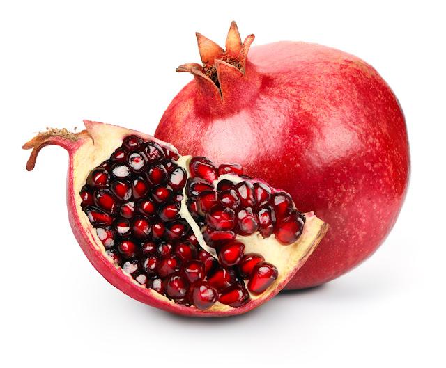 manfaat buah delima, treatment menghilangkan jerawat alami