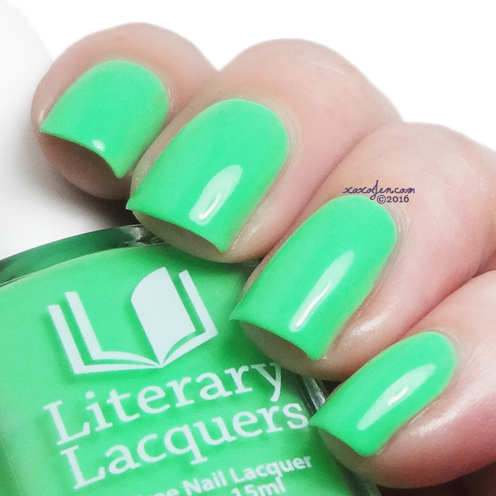 xoxoJen's swatch of Literary Lacquers If Thou Hast Eyes To See