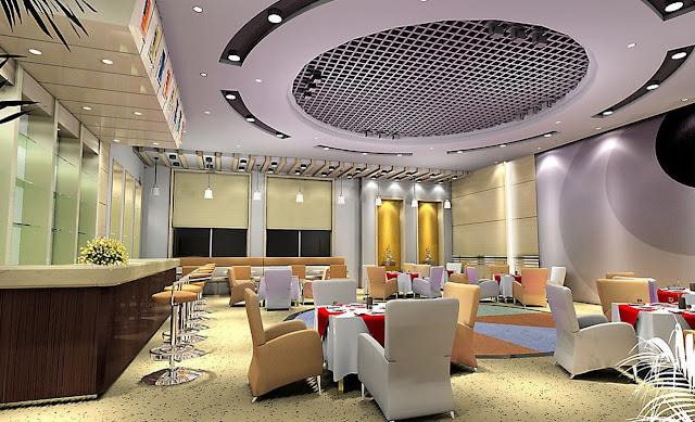 Desain Interior Cafe Bar Modern