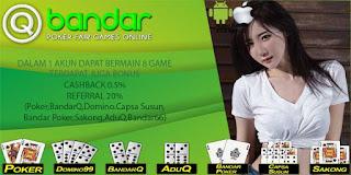 Strategi Bermain Judi Poker Online QBandar - www.Sakong2018.com
