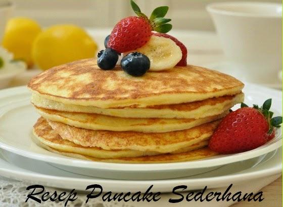 Resep Kue Pancake dan Cara membuat-nya | Resep Kue Kukus