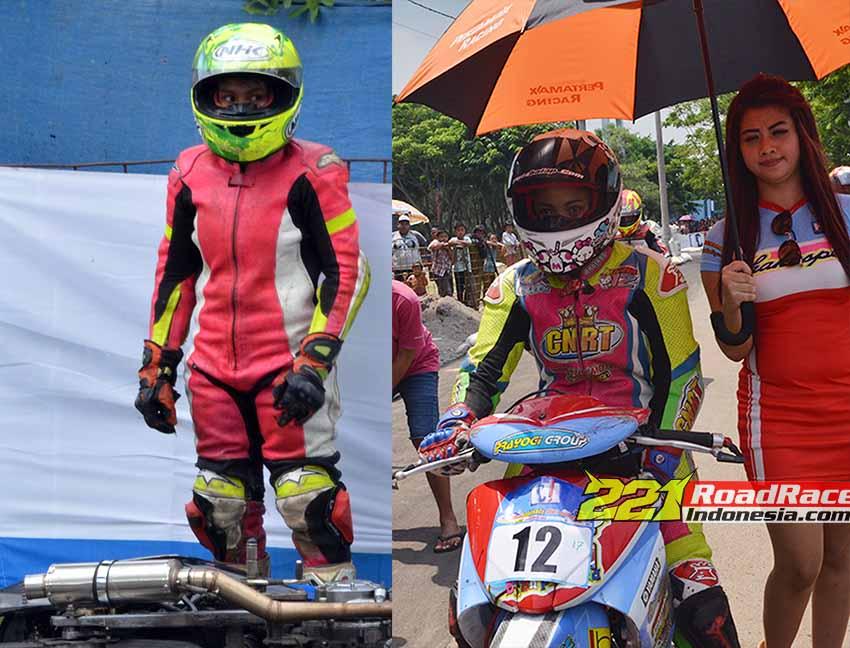 Muncul Dua Katini Muda di Road Race Jepara, Wow.. Bawa Jupiter MX