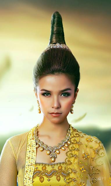 Ariel Thuta-Myanmar Model Girls