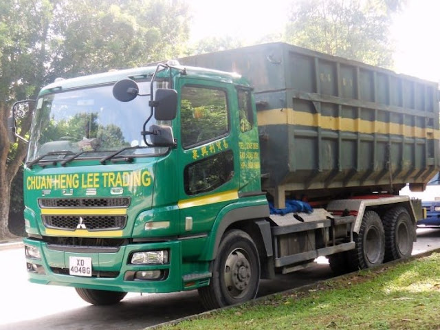 dump truk fuso super great