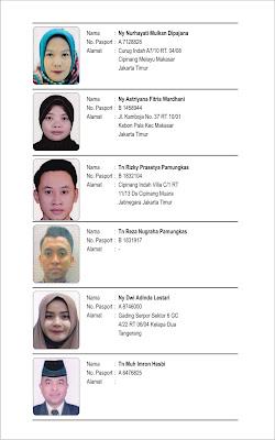 Daftar Jemaah Umrah