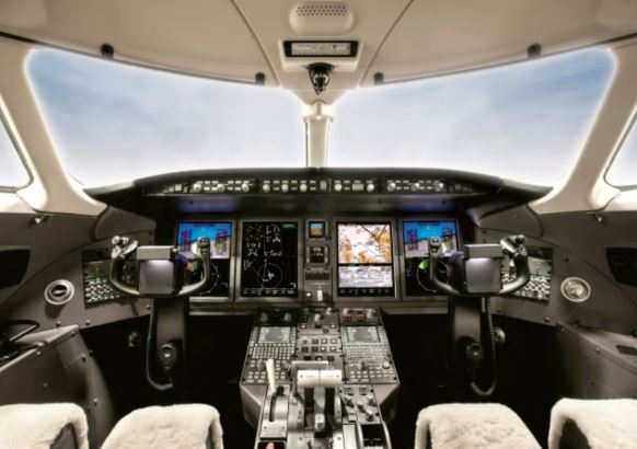 Bombardier Challenger 350 cockpit