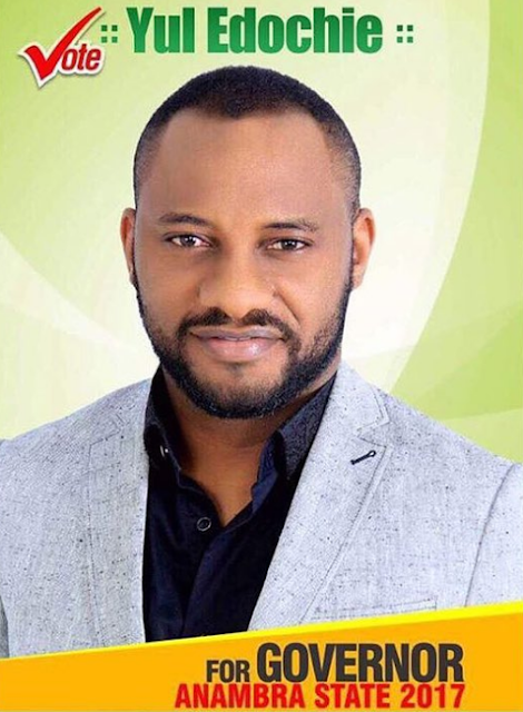 yul edochie running anambra state governorship election