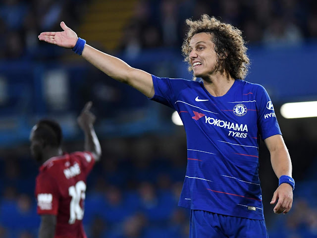 Unbeaten Chelsea dan Bangkitnya David Luiz