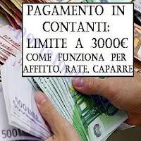 limite per pagare in contanti