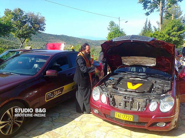 Οι οδηγοί ταξί τίμησαν τον προστάτης τους Άγιο Χριστόφορο στο Ναύπλιο