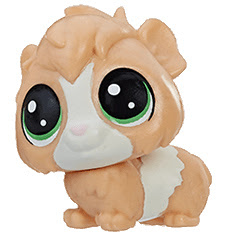 Littlest Pet Shop Series 2 Mini Pack Guinsy Pigson (#2-100) Pet