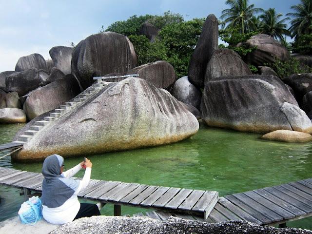 Indahnya Alif Stone Park di Natuna, Kepri