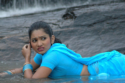 Sharing Tamil Hot Actress Anjali Joy In Wet Saree S In