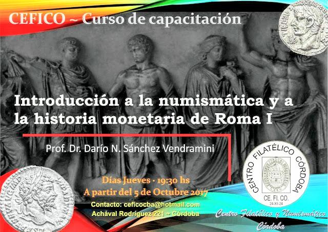 Curso de Capacitación CEFICO introducción a la numismática