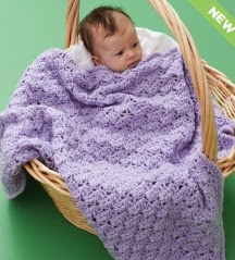 http://www.yarnspirations.com/pattern/crochet/textured-baby-blanket
