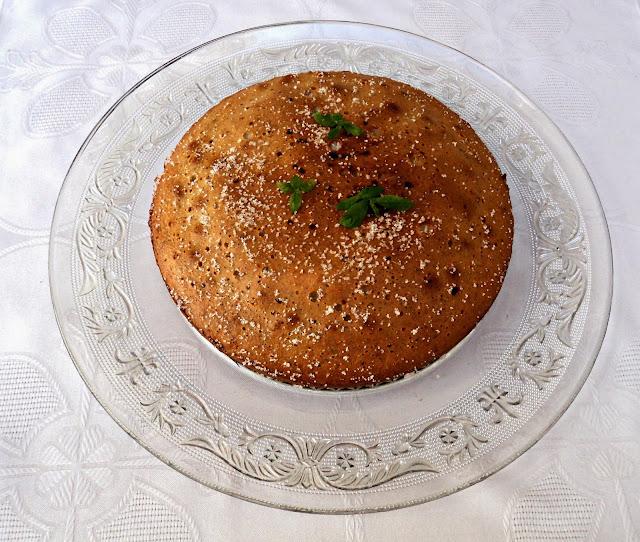 receta casera bizcocho, almendras, avellanas