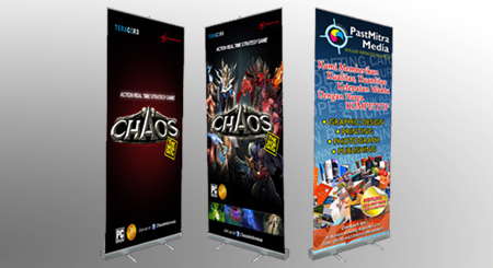 Percetakan Pull Up Banner