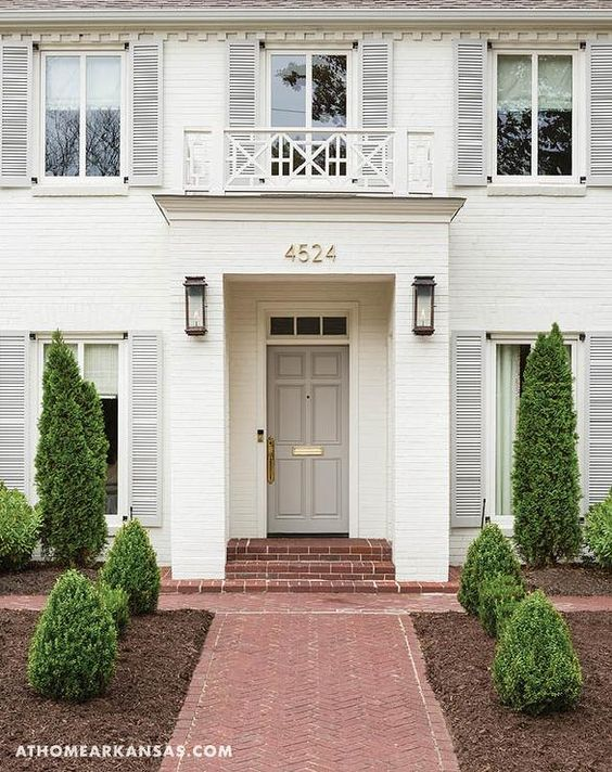 Beautiful Exterior Home Design Trends: {Decor Inspiration} 40 Beautiful Home Exteriors