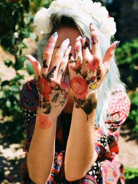tattoo small on hand