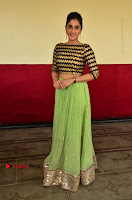 Actress Regina Candra Latest Pos in Green Long Skirt at Nakshatram Movie Teaser Launch  0135.JPG