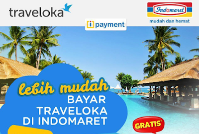 cara pembayaran traveloka via indomaret