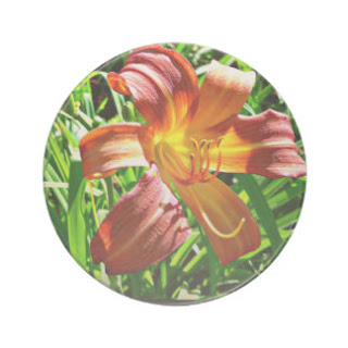 Tiger lily coaster