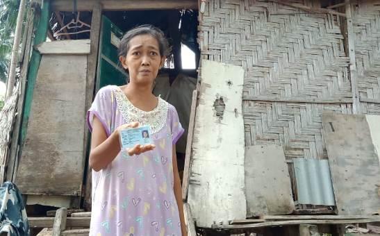 Janda Miskin 7 Anak Ini, Dapat Bantuan Rumah Layak Huni Dari Bupati
