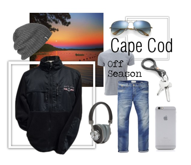 Cape Cod - Off Season Style | Anchor Fleece Jacket | Comfy & Durable