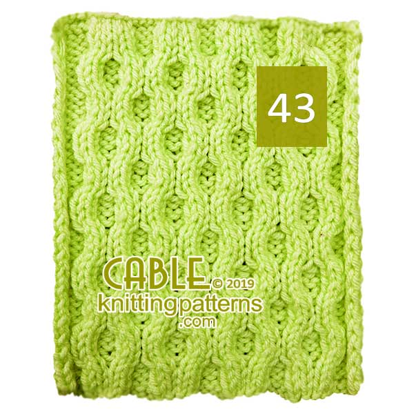 Cable Knitting Pattern 43