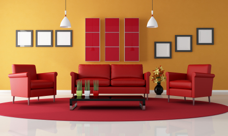 yellow and red living room cores 21005