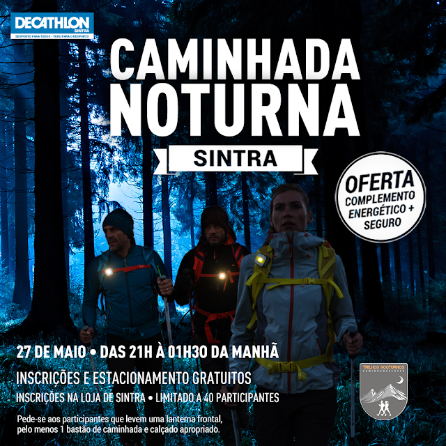 Caminhada Noturna com a Decathlon Sintra