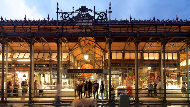 Mercado San Miguel em Madri