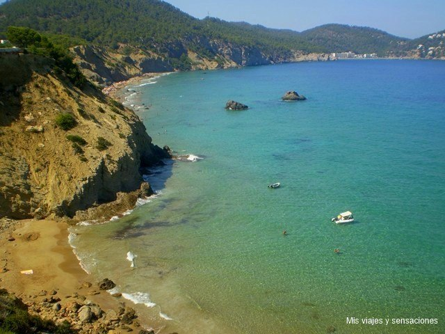 Playa aguas blancas, Ibiza