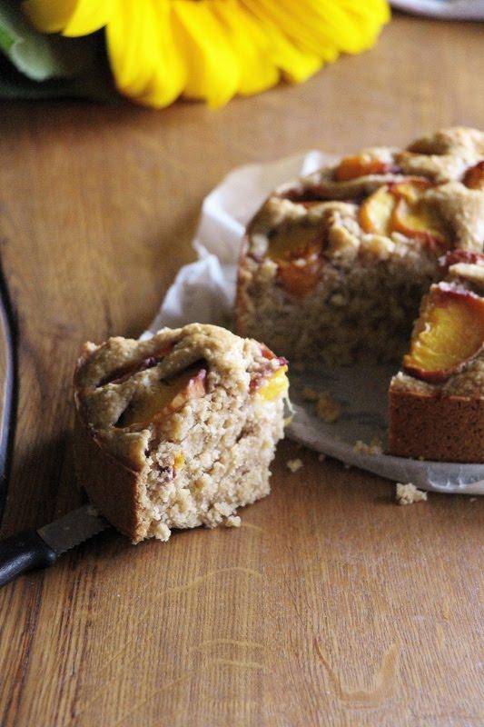 Saftiger Aprikosenkuchen, vegan