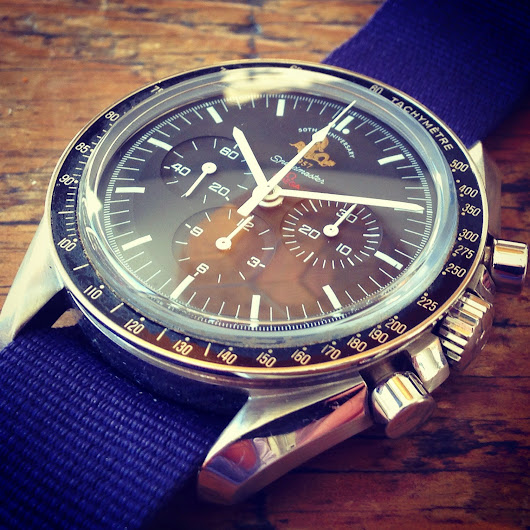 50th ANNIVERSAY OMEGA SPEEDMASTER