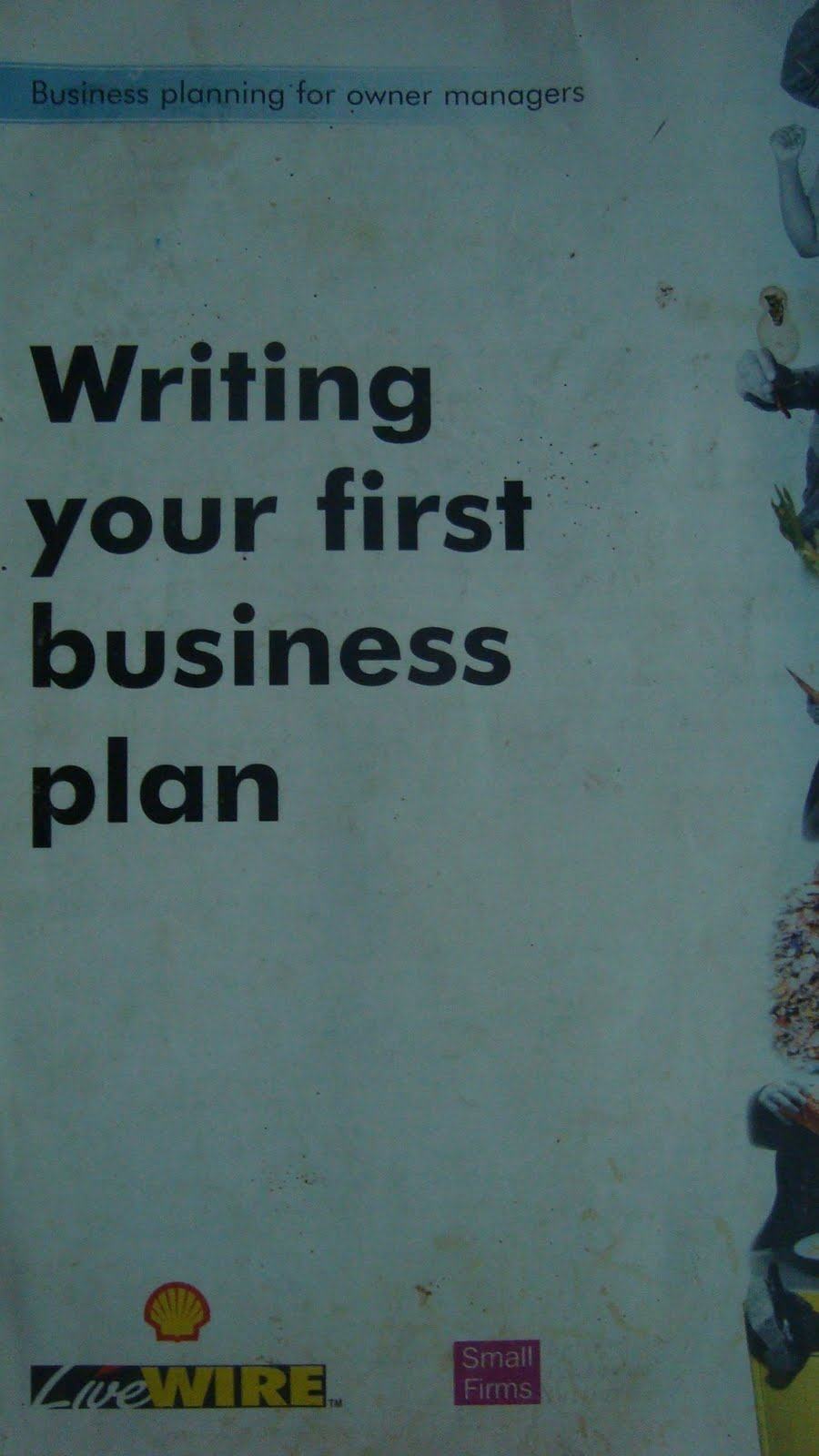 Your first business plan : learn the critical steps to writing a winning business plan