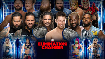 WWE Elimination Chamber 2020 PPV WEBRip 480p 900Mb x264