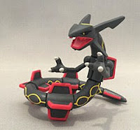 Shiny Rayquaza figure Takara Tomy Monster Collection 2015 promotion