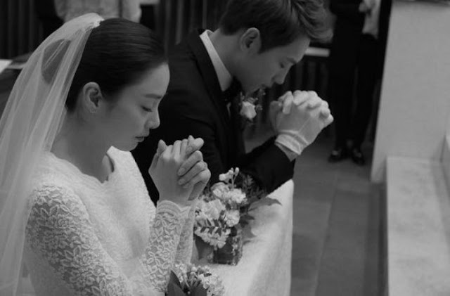 Kim Tae Hee Rain Wedding