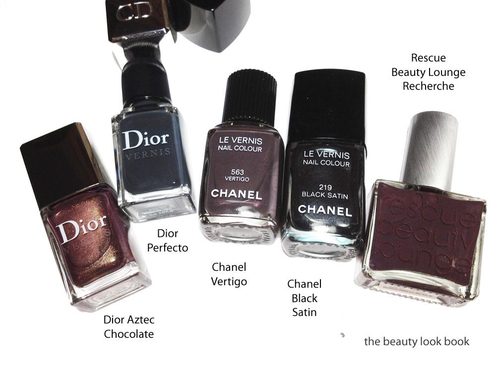 Chanel Vertigo 563 Le Vernis Fall 2012 The Beauty Look Book