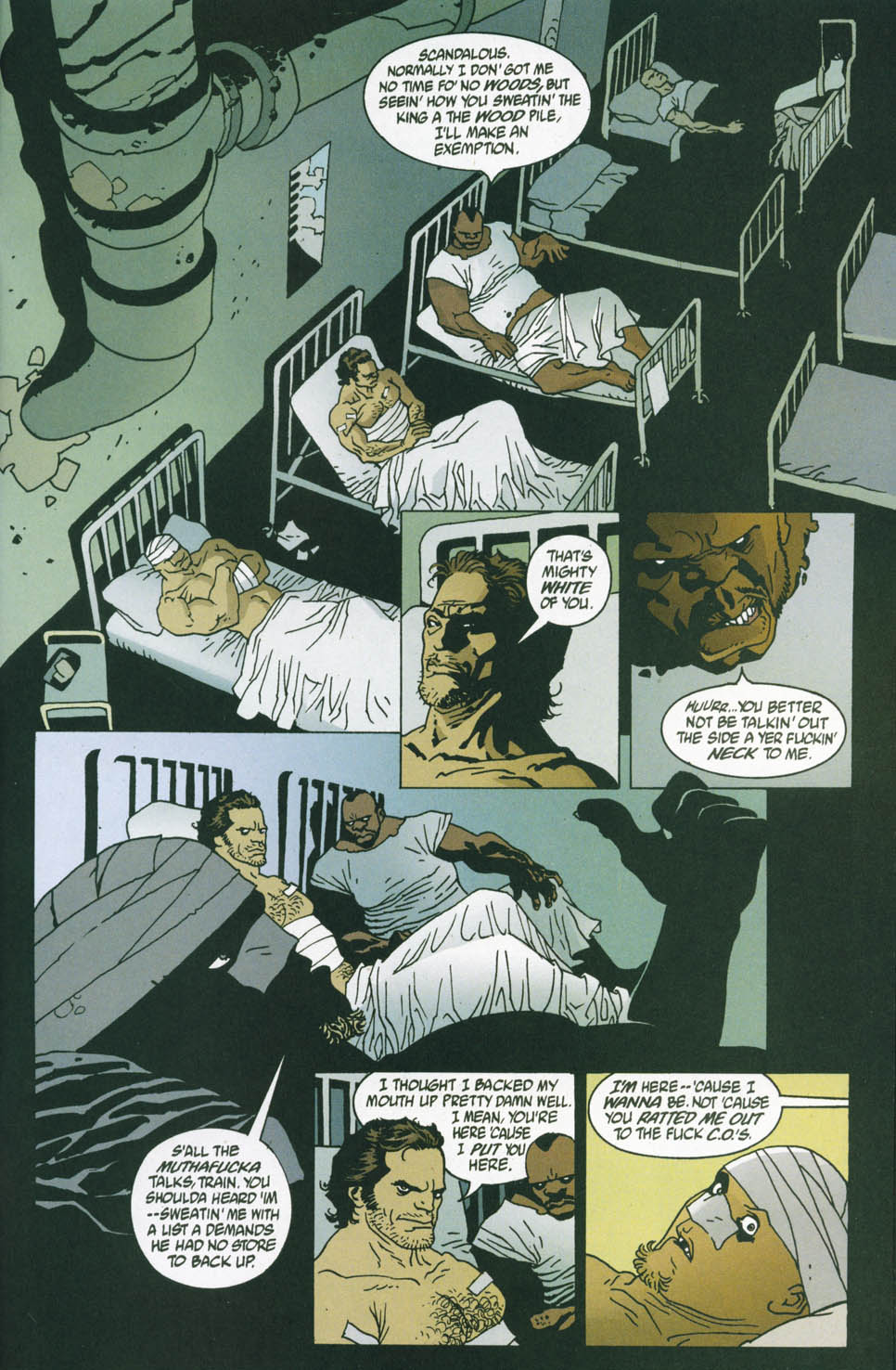 Read online 100 Bullets comic -  Issue #45 - 16