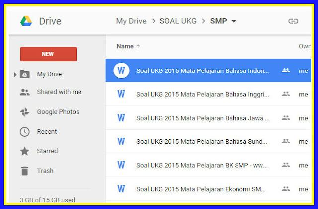 Download Kumpulan Contoh Soal UKG Lengkap Terupdate