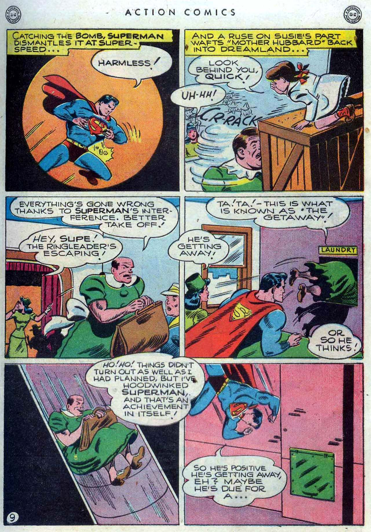Read online Action Comics (1938) comic -  Issue #110 - 10
