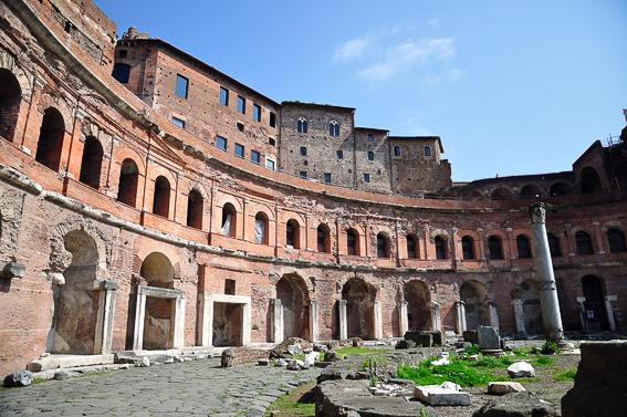 Mercado de Trajano. Roma