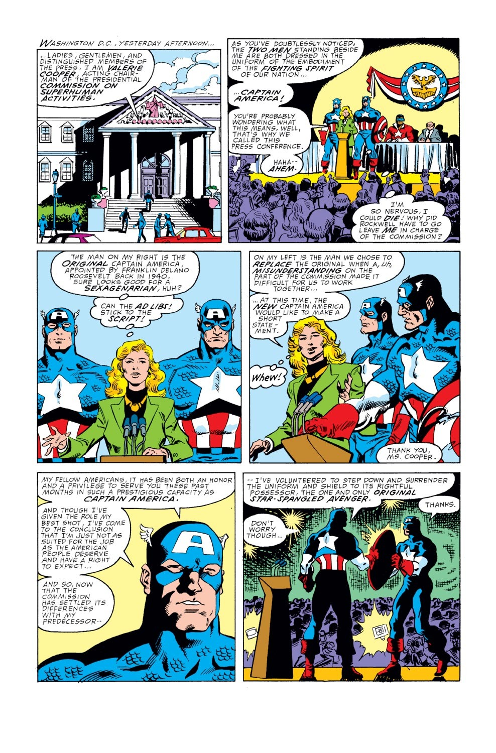 Captain America (1968) Issue #351 #283 - English 2