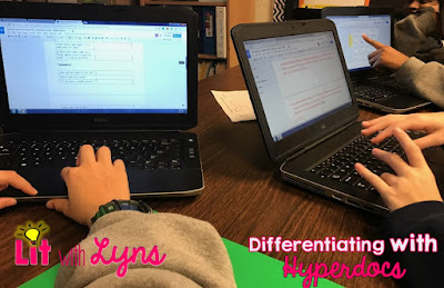 Differentiating with Hyperdocs