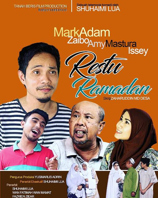 Cerekarama Restu Ramadan Lakonan Mark Adam, Zaibo, Issey BMB, Amy Mastura