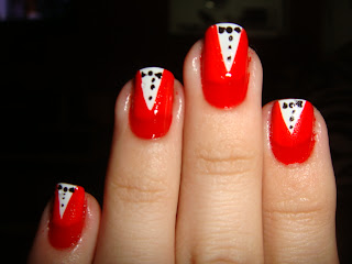 Tutorial de unhas decoradas smoking - Fotos e modelos