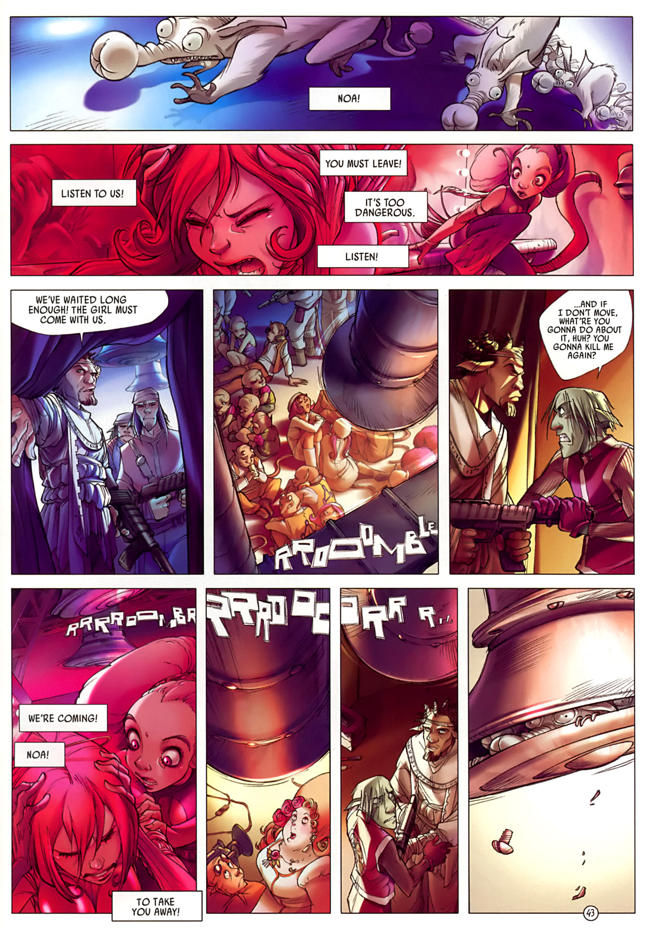 Read online Sky Doll comic -  Issue #3 - 47