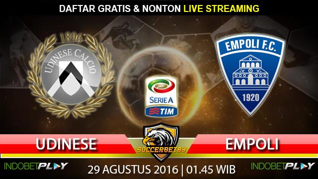 Prediksi Udinese vs Empoli 29 Agustus 2016 (Liga Italia)